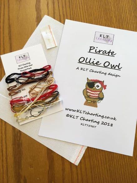 Pirate Ollie Owl Full Kit