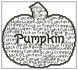 Pumpkin In Words