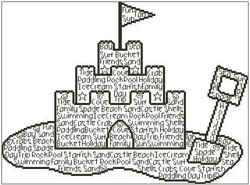 Sand Castle In Words