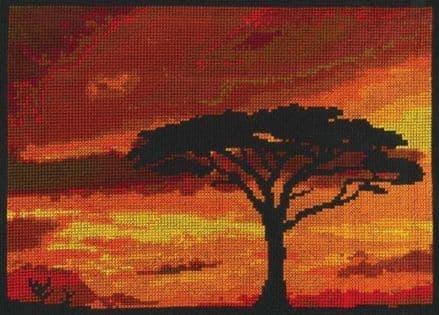 Savannah Sunset DMC Kit