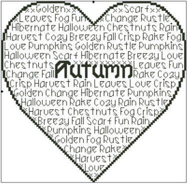 Seasons - Autumn In Words