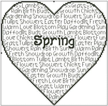 Seasons - Spring In Words