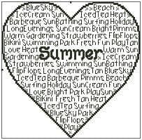Seasons - Summer In Words