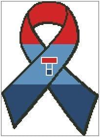 Teenage Cancer Trust Ribbon