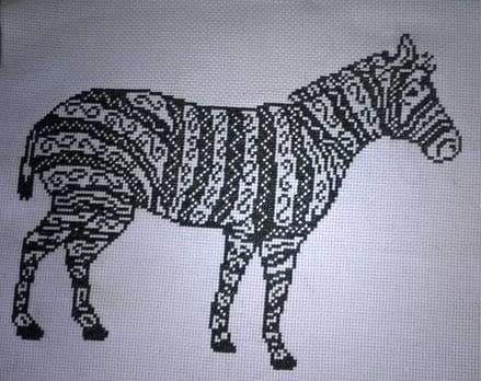 Tribal Zebra