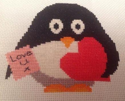 Valentines Presley Penguin