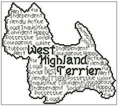 West Highland Terrier In Words