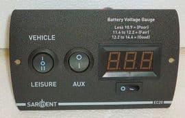 Digital Sargent EC20 Control Panel