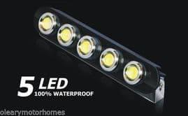 FIXED DRL LED WHITE DAYTIME RUNNING LIGHTS MOTORHOME CAR VAN CAMPER RV 10 12V