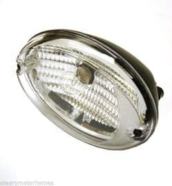 HELLA OVAL REVERSE CLEAR LIGHT WITH BULB LAMP MOTORHOME VAN RIGHT HAND