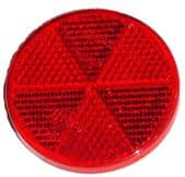 HELLA Red Reflector (bumper end 1 )