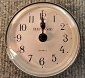 Motorhome caravan recess wall clock