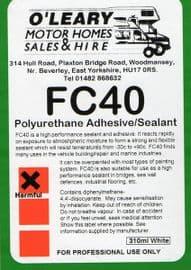 O'Learys FC40 Motorhome/ caravan boat glue