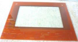 Replacement maroon caravan motorhome oven door