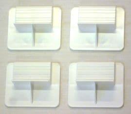 Solar Panel Mounting Bracket (4 Pack)