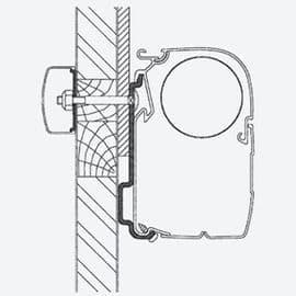 Thule Omnistor EDEN ALLEGRO Adapter kit
