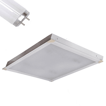 18W Suspended Ceiling 600x600 Modular Recessed Prismatic Lights light