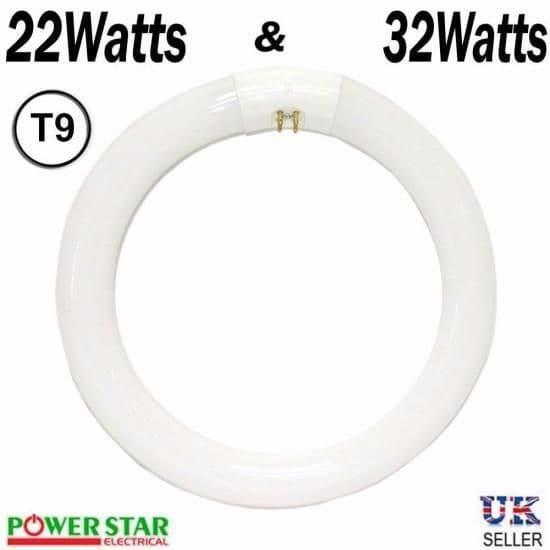 t9 circular fluorescent light & 32w/22w t9 circular fluorescent tube | Powerstarelectricals.co.uk