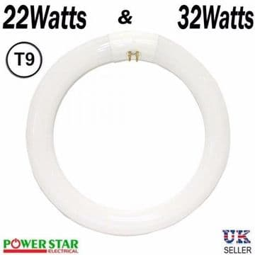 22WATT / 32WATT Round Circular 22W T9 Fluorescent Tube By powerstar
