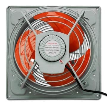 Heavy Duty Industrial Metal Axial Extractor Ventilation Fan