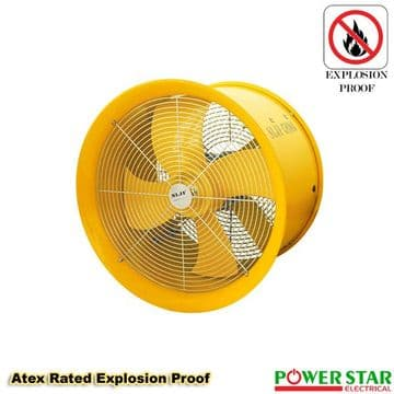 Industrial (EX)Axial Canopy Extractor Commercial Exhaust Cased Powerful Fan