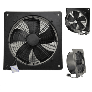 Industrial Extractor Exhaust Wall Mounted Plate Fan with or without Speed Controller