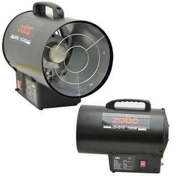 Industrial Portable Gas Forced Space Heater 15KW