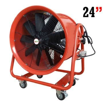 Industrial Portable Ventilation Fan Air Mover Axial Metal Blower 110V