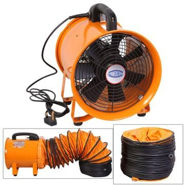 New Portable Ventilation Axial Fan With Flexible Air Duct
