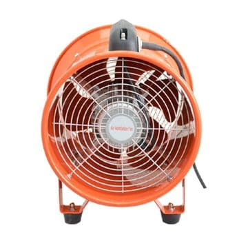 "Portable Dust Fume Extractor Ventilation Axial Blower Workshop Fan 8"" 10"" & 12"""