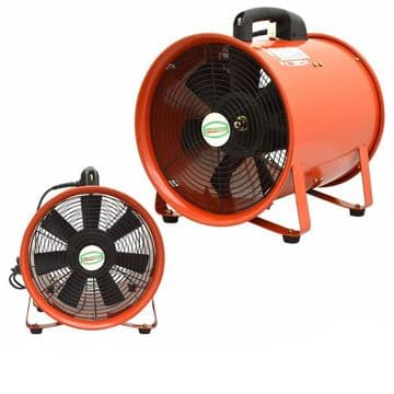 Portable Ventilation Fan Axial Blower with flexible Duct