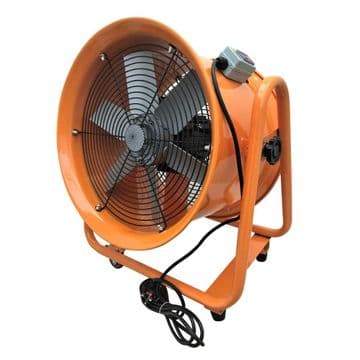 Portable Ventilator Axial Blower Ventilation Extractor Industrial Fan