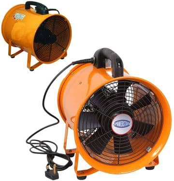 Portable Ventilator Axial Blower Workshop Extractor Fan
