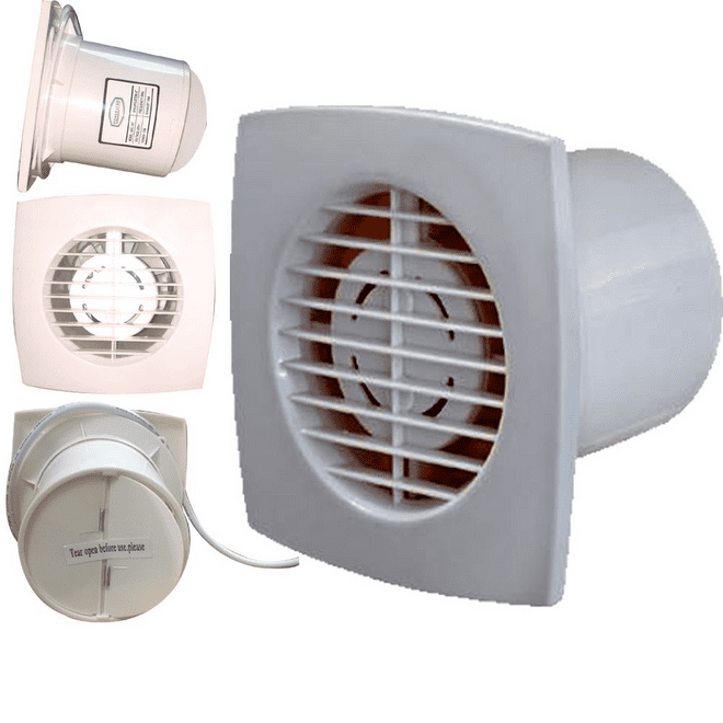 Ventilation Extractor PVC Wall Ceiling Fan