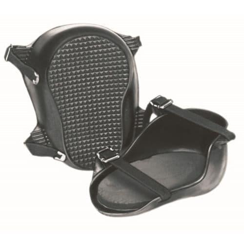 2pc Rubber Cushion Knee Pad Set - Kraft Tool
