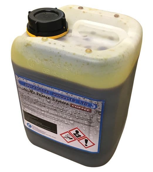 Acid Tone Stain - Coffee (5L) For Pattern Imprinted Concrete
