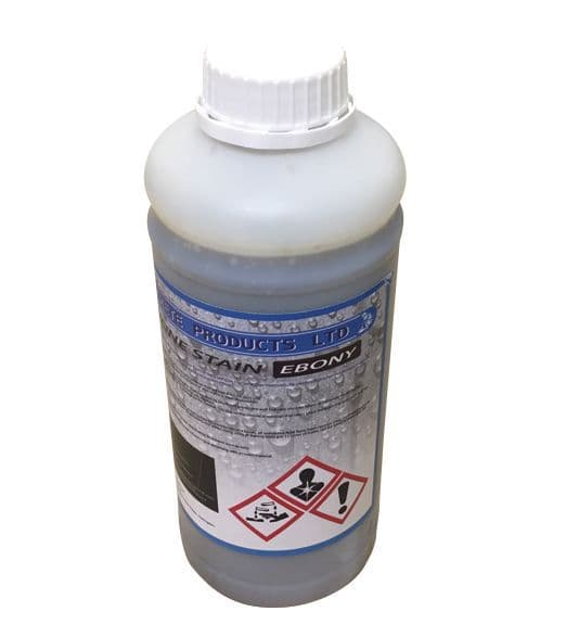 Acid Tone Stain - Ebony (1L) For Pattern Imprinted Concrete