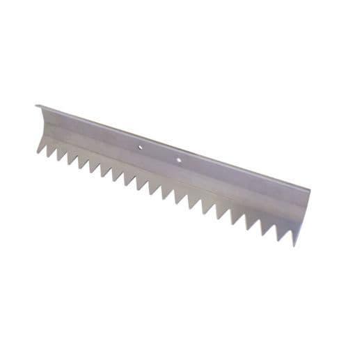 "Aluminium Concrete Rake (Replacement Head Only) 20"" x 5"" - Kraft Tool"