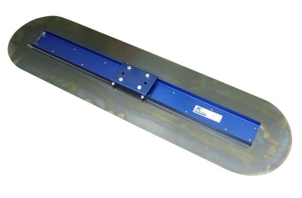 "Big D Bullfloat - 48"" x 12"" (1220mm x 305mm) Blue Steel Float - Kraft Tool"