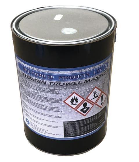 Bitumen Trowel Mastic  - 5L