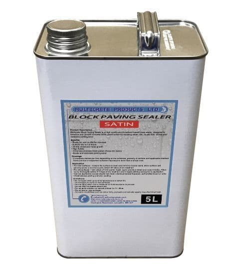 Block Paving Sealer - Satin (5L)