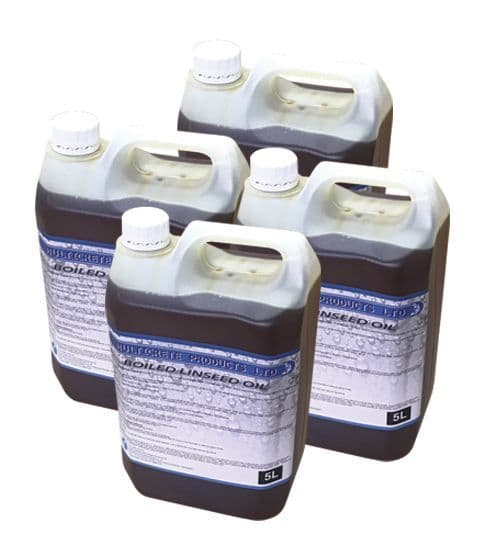 Boiled Linseed Oil 20L Timber Treatment