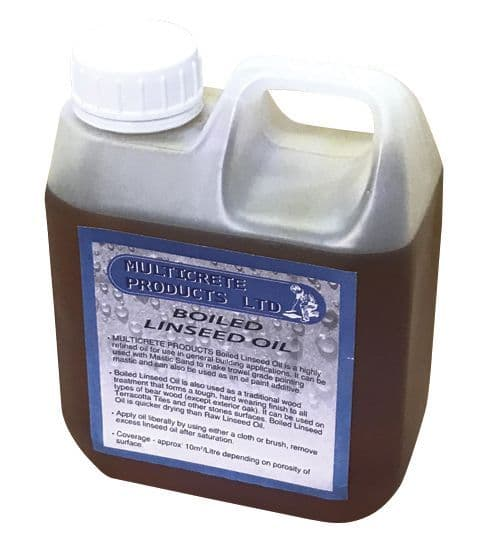 Boiled Oil 1, 2.5 or 5L