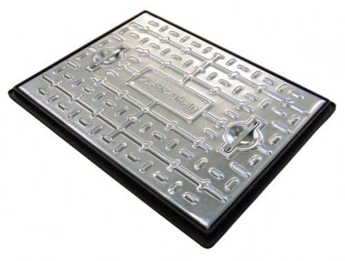 Clark Drain Manhole Cover Access Inspection 600 x 450mm - 10 Tonne PC6CG