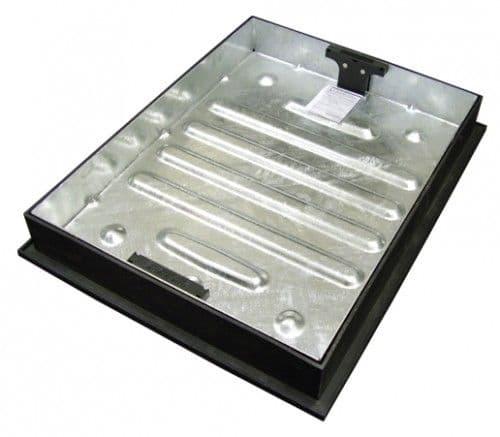 Clark Drain Recessed Block Pavior Manhole Cover - 600 x 450 x 80mm CD790R/80