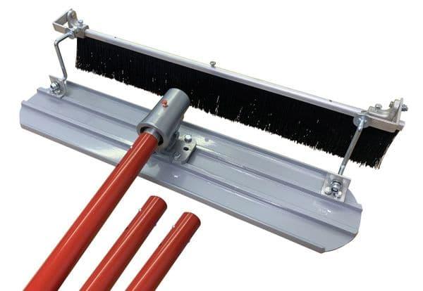 Concrete Broom & Mag Float Kit 3ft or 4ft Options