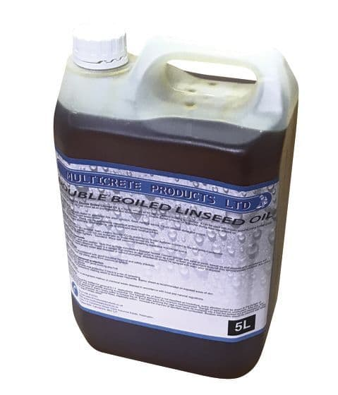Double Boiled Linseed Oil 1, 2.5 or 5L
