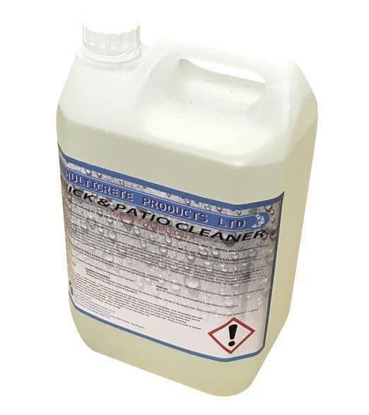 Hydrochloric Acid/High Strength Brick and Patio Cleaner (5Ltr)