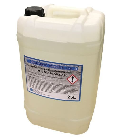 Imprinted Concrete Acid Wash 25L
