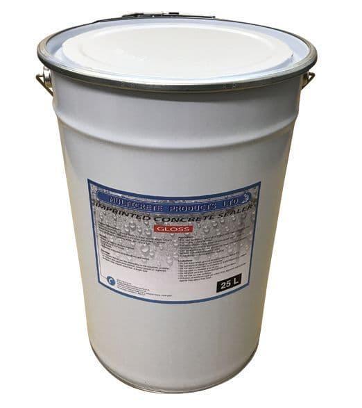 Pattern Imprinted Concrete Sealer - Gloss (25Ltr)
